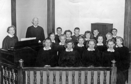 Ashland Baptist Church Choir 1950