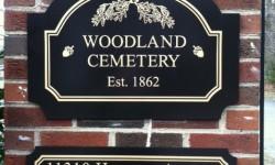 Woodland Cemetery Tour