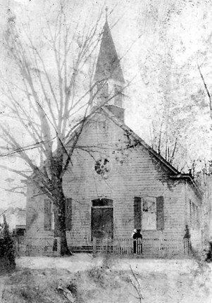 Historic photo of Shiloh Baptist Church