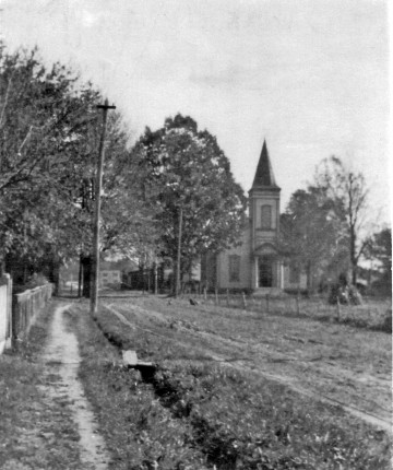 Ashland Presbyterian Church circa 1900